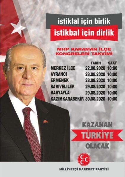 MHP Karaman'a atama yaptı