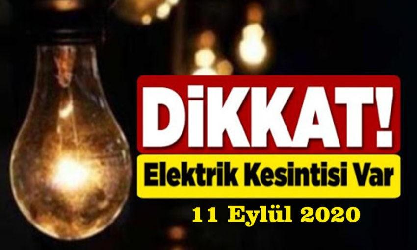 11 Eylül elektrik kesintileri