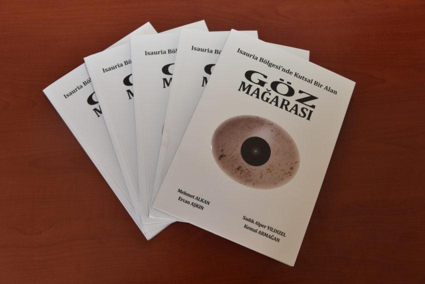 """KMÜ'nün ilk kitabı """"Göz Mağarası"""" yayınlandı"""