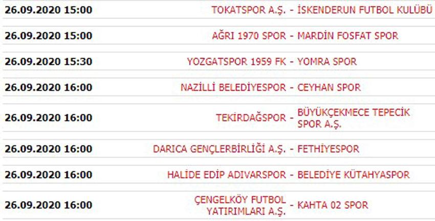 Karaman Belediyespor: 1 Tekirdağspor: 1