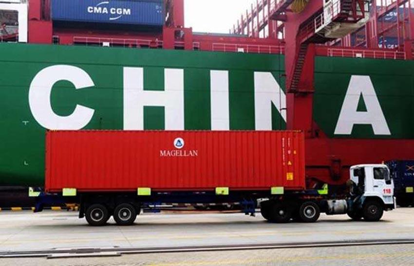 54 firmayla Çin piyasasındayız
