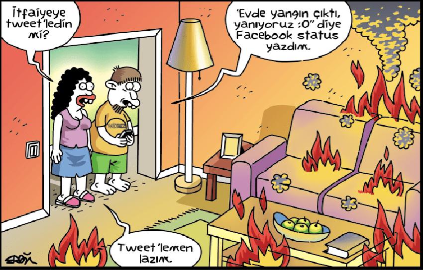 Karikatür paylaşanlar dikkat!