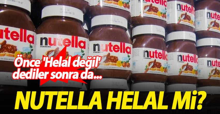 "Nutella'dan resmen: ""Helal değiliz"""