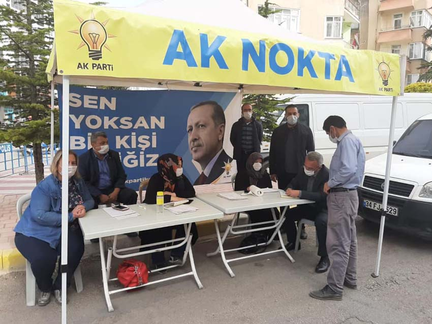 AK Parti Cumartesi Pazarında