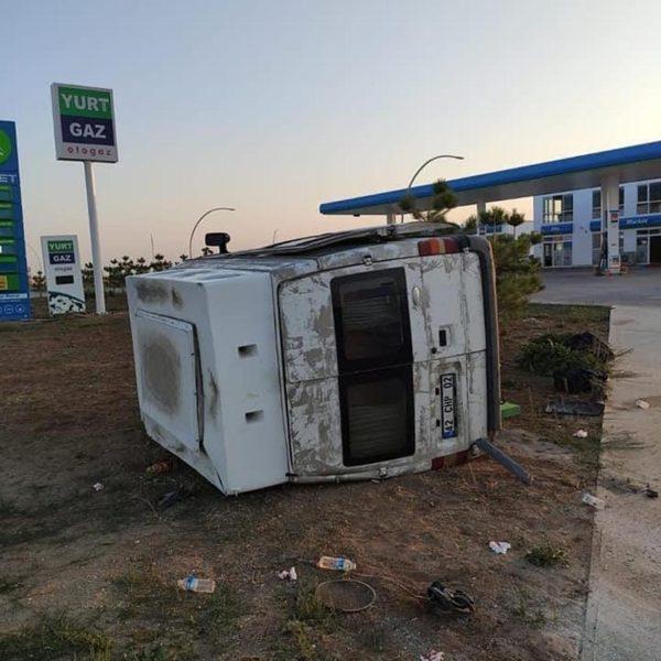 CHP Karaman ekibi kaza yaptı