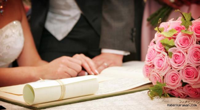 Evlenirken aranan ikamet şartı kalktı