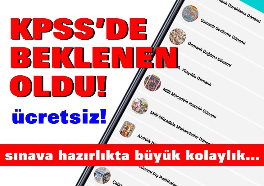 KPSS adaylarına iyi haber!