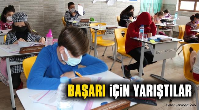 Başarı Koleji İl Geneli Sınavı yapıldı