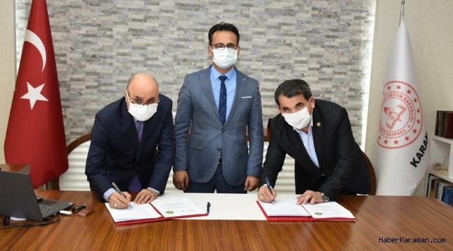 Meslek edindirme kursları protokolü imzalandı
