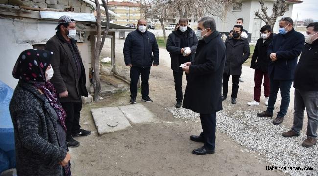 Vali IŞIK, mahalle ziyaretlerine devam ediyor